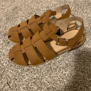 Strappy Clog Sandals